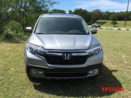 test drive 2017 honda ridgeline returns to the light duty midsize
