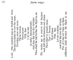 pattern poem definition poetry visual