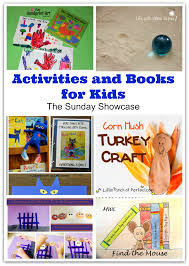 activities and books for kids the sunday showcase