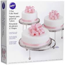 cake tier stand wilton 3 tier cake stand