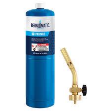 how to light a propane torch bernzomatic ul100 basic propane torch kit ul100kc the home depot