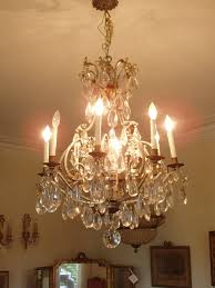 Vintage Crystal Chandeliers Thursdays Antiques Fine 18th 19th And Turn Of The Century French