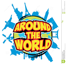 around the world royalty free stock images image 33227469