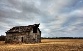 Wallpaper Barn Abandoned Wooden Barn On A Clouded Day Wallpaper World