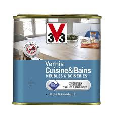 peinture cuisine et bain vernis cuisine et bain v33 0 75 l incolore leroy merlin