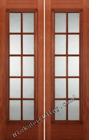 16 Interior Door Mahogany Interior Doors 1 Panel