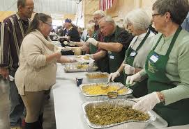 thanksgiving food bank volunteer volunteers contributions for thanksgiving meal local news