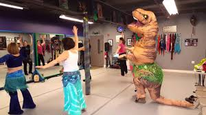 Belly Dance Meme - roxy the t rex s rex s visit to raq on dance studio for belly