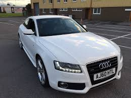 audi a5 coupe s line quattro 3 0tdi white rare manual in