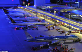 model airport runway lights honey i shrunk the flughafen german builds world s largest model