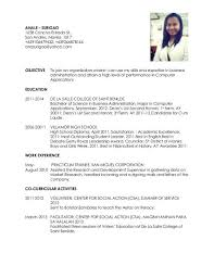 Co Curricular Activities In Resume Sample 210 Best Sample Resumes Images On Pinterest Sample Resume