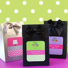 personalized party favor bags birthday candy bags