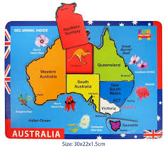 austrelia map puzzles for australia map jigsaw puzzle finlee and me