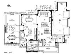 Kitchen Floor Plan by Modern Floor Plan Design