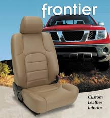 Seat Upholstery Nissan Frontier Katzkin Leather Seat Upholstery Kit Shopsar Com
