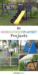 Diy Backyard Playground Ideas Diy Kids Outdoor Playset Projects Outdoor Playset Tutorials And