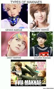 Different Kinds Of Memes - types of maknaes meme center meme and kpop