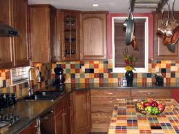 kitchen backsplash design ideas hgtv travertine tile kitchen backsplash