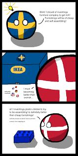 Denmark Meme - friendly rivalries sweden and denmark polandball