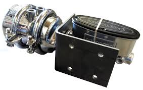 air hydraulic brake system polished and chromed with polished