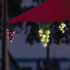Grape Cluster String Lights by Solar Powered 64 Umbrella Grape Lights Kf84007 From Huizhou