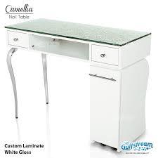 Quilted Reception Desk Salon Furniture Gulfstream Inc