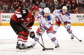 Nhl Standings New York Rangers Preview Battle At The Bottom Vs Arizona Coyoyes