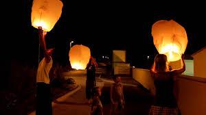 lanterne chinoise mariage lancer de lanterne souvenir mariage