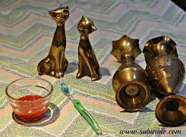 bring brass back and how to clean it naturally hometalk