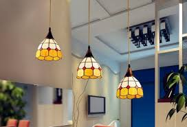 Glass Pendant Light Fitting Glass Shade Pendant Light Fitting Yellow Mediterranean Pendant