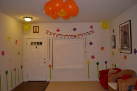 Home Decoration For Birthday by Ideas For Birthday Decoration At Home Home Decorating Ideas For
