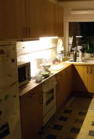 Kitchen Cabinet Led Downlights Built In Kitchen Ledberg Ikea Hackers Ikea Hackers