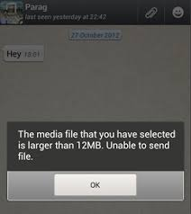 how to send from android to iphone how to send large audio files on whatsapp for android and