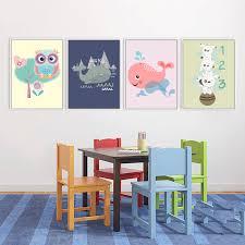 chambre hibou mélanger 5 conceptions abstraite peintures mignon hibou