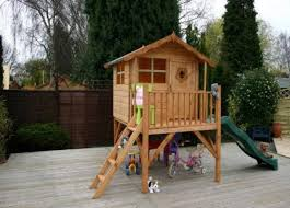 Wooden Backyard Playhouse Wooden Outdoor Playhouses For Sale Uk Log Cabins