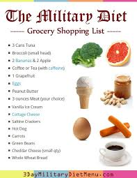 best 25 military diet shopping list ideas on pinterest military