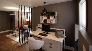 am駭ager un coin bureau dans un salon un salon et un bureau dans le sous sol emission deco sous sols