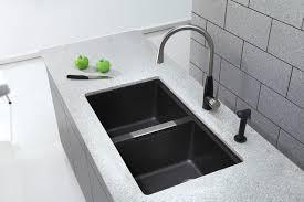 black granite composite sink amusing black granite kitchen sink awesome modern undermount sinks