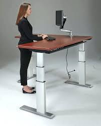 build adjustable table legs adjustable height desk diy luisreguero com