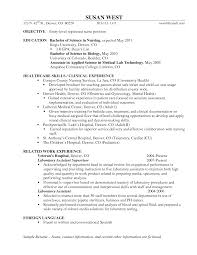 Sample Cna Resume With No Experience by Cna Resume Samples Doctor Secretary For Nurses Format