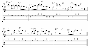 rhythm changes licks etude jamieholroydguitar com