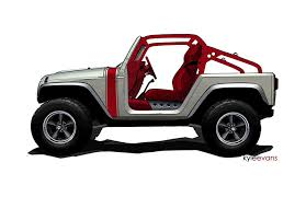 new jeep wrangler concept jeep wrangler renegade and pork chop concept teasers photos 1 of 2