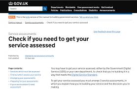 service standard government digital service