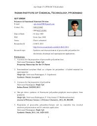Resume To Job by Ajit Cv Job