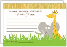 Words Of Wisdom Cards Cheap Baby Shower Invitations Invite Shop