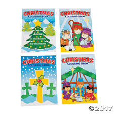 christmas religious coloring books
