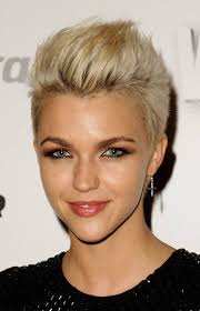 short haircuts with blonde highlights hair style and color for woman