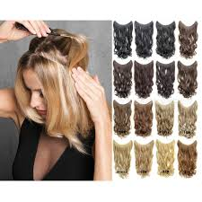 Synthetic Hair Extension by Online Get Cheap Easy Hair Extensions Aliexpress Com Alibaba Group