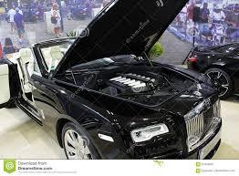 carro rolls royce primeira vez de rolls royce dawn mostrada na expo 2017 do carro de