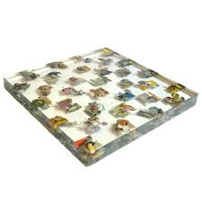dustin yellin chessboard u0027edition of unique chess sets signed by